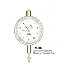 TECLOCK DIAL INDICATORS, SMALL DIAL INDICATORS TM-36